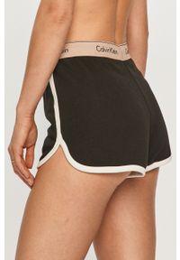 Czarna piżama Calvin Klein Underwear gładkie