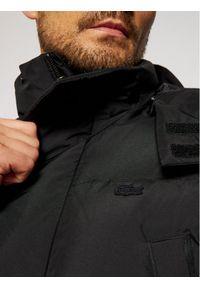 Czarna kurtka zimowa Lacoste