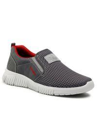 Rieker Sneakersy B7561-46 Szary. Kolor: szary