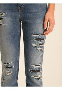 Niebieskie jeansy slim Just Cavalli