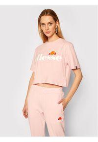 Różowy t-shirt Ellesse