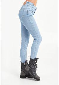 JEANSY HIGH WAIST PREACHERS ONETEASPOON. Stan: podwyższony. Materiał: jeans. Styl: klasyczny #5