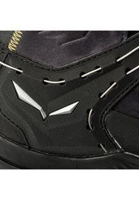 Salewa - Trekkingi SALEWA - Rapace Gtx GORE-TEX 61332-0960 Night Black/Kamille. Kolor: czarny, wielokolorowy, niebieski. Materiał: skóra, nubuk, zamsz. Technologia: Gore-Tex. Sport: turystyka piesza