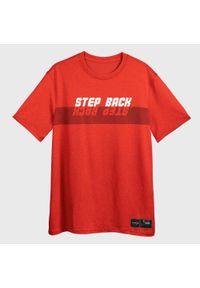 TARMAK - Koszulka DO KOSZYKÓWKI TS500 FAST STEP BACK MĘSKA. Kolor: czerwony. Materiał: materiał, poliester. Sport: koszykówka