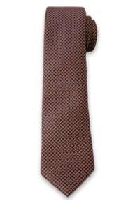Elegancki Krawat Męski w Drobne Groszki, Kropki - 6 cm - Alties, Kolorowy. Materiał: tkanina. Wzór: kropki, kolorowy, grochy. Styl: elegancki