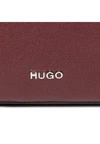 Czerwona torebka worek Hugo