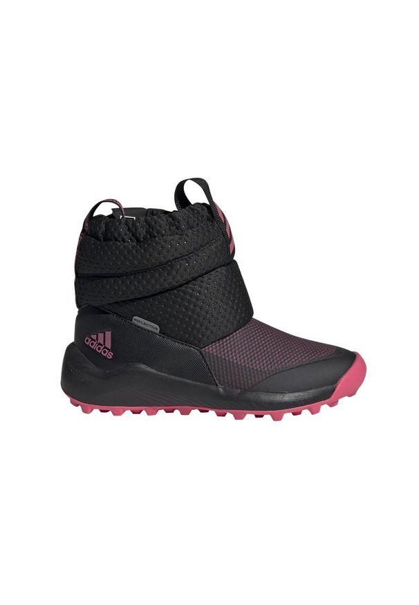 Buty trekkingowe Adidas wąskie, z cholewką, na zimę