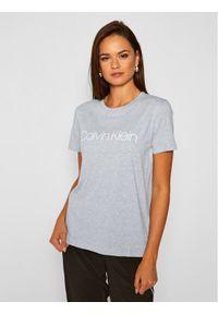 Calvin Klein T-Shirt Core Logo K20K202142 Szary Regular Fit. Kolor: szary