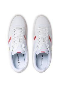 Lacoste Sneakersy Giron 0721 1 Cma 7-41CMA0050286 Biały. Kolor: biały