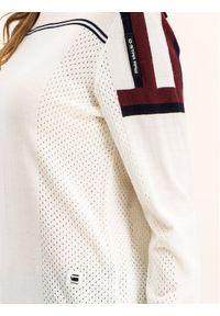 Biały sweter klasyczny G-Star RAW
