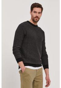Szary sweter Selected długi, gładki