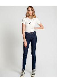 ONETEASPOON - Biała koszulka Bower Bird. Kolor: biały. Materiał: bawełna. Wzór: nadruk. Styl: klasyczny