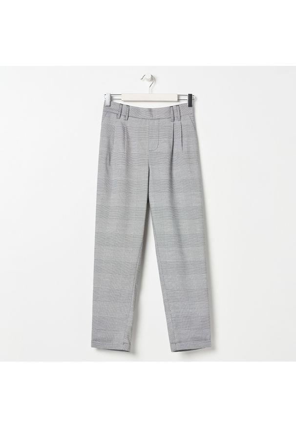 Szare spodnie Sinsay eleganckie