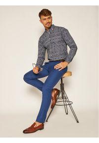 Niebieskie spodnie garniturowe Tommy Hilfiger Tailored