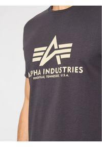Alpha Industries T-Shirt Basic 100501 Szary Regular Fit. Kolor: szary #4