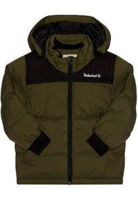 Zielona kurtka puchowa Timberland
