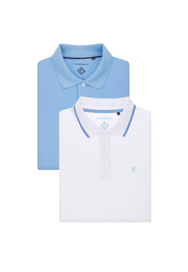 Koszulka polo Lancerto na co dzień, polo, elegancka