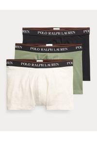 Ralph Lauren - RALPH LAUREN - Męskie bokserki (3-pack). Kolor: szary. Materiał: bawełna