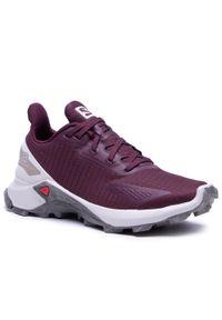 Fioletowe buty do biegania salomon