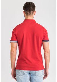 T-shirt JOOP! Jeans sportowy, w jednolite wzory, polo