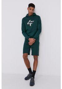 4f - 4F - Bluza. Okazja: na co dzień. Kolor: zielony. Wzór: nadruk. Styl: casual