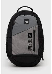 Big Star Accessories - Plecak. Kolor: szary