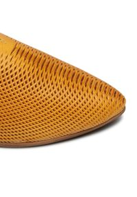 Żółte sandały Piazza
