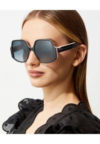 DIOR - Okulary Dior InsideOut 1. Kolor: czarny. Wzór: gradientowy