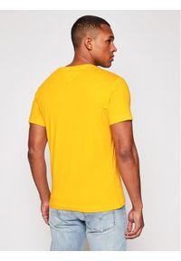 Żółty t-shirt Tommy Jeans #5
