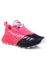Różowe buty do biegania Dynafit z cholewką