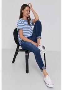 Pepe Jeans - Jeansy Dion. Kolor: niebieski