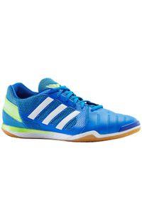 Buty halowe do piłki nożnej dla dorosłych Adidas TOP SALA. Kolor: zielony, wielokolorowy, niebieski. Materiał: mesh, kauczuk