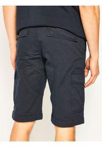 Niebieskie spodenki jeansowe Guess