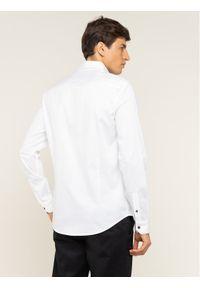 Biała koszula biznesowa Armani Exchange