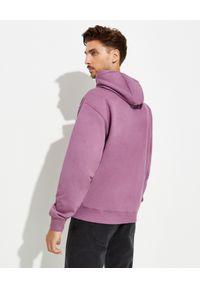 Kenzo - KENZO - Bluza z wyszywanym logo. Kolor: różowy, wielokolorowy, fioletowy. Materiał: bawełna. Długość rękawa: długi rękaw. Długość: długie. Wzór: aplikacja, kolorowy. Styl: klasyczny