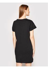 Czarna sukienka Calvin Klein Swimwear casualowa, na co dzień, prosta