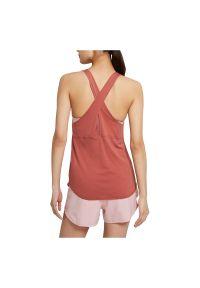 Koszulka damska do biegania Nike Breathe Cool CZ9608. Materiał: poliester, materiał. Długość rękawa: na ramiączkach. Technologia: Dri-Fit (Nike). Sport: bieganie