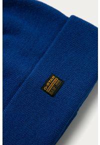 Niebieska czapka G-Star RAW