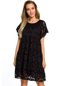 Sukienka koktajlowa MOE trapezowa, mini