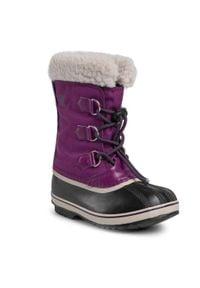 sorel - Śniegowce SOREL - Yoot Pac Nylon NY1962 Wild Iris/Dark Plum 594. Kolor: fioletowy. Materiał: guma, materiał. Szerokość cholewki: normalna