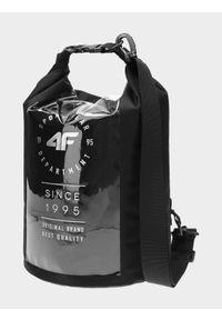 4f - Torba plażowa (15 L). Kolor: czarny. Rodzaj torebki: na ramię