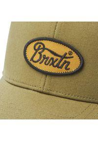 Zielona czapka z daszkiem Brixton