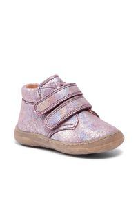 Froddo - Trzewiki FRODDO - G2130239-5 M Pink Shine. Kolor: różowy. Materiał: skóra, zamsz