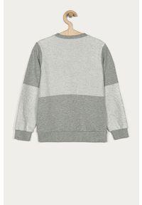 Szara bluza Guess bez kaptura, casualowa, na co dzień