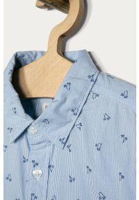 Niebieska koszula Pepe Jeans na co dzień, klasyczna, z klasycznym kołnierzykiem