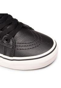 Czarne buty sportowe Vans Vans SK8, na co dzień, z cholewką