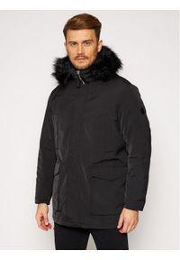 Czarna kurtka zimowa Armani Exchange