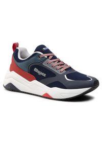 Blauer Sneakersy S1TOK01/MES Granatowy. Kolor: niebieski