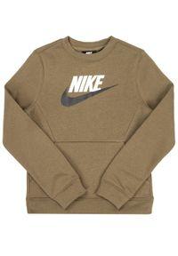 Zielona bluza sportowa Nike