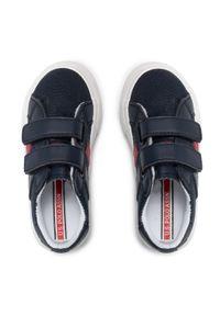 U.S. Polo Assn - Sneakersy U.S. POLO ASSN. - Matry155 MATRY4155S1/CY1 Dkbl. Okazja: na spacer. Zapięcie: rzepy. Kolor: niebieski. Materiał: skóra ekologiczna, materiał. Szerokość cholewki: normalna #7